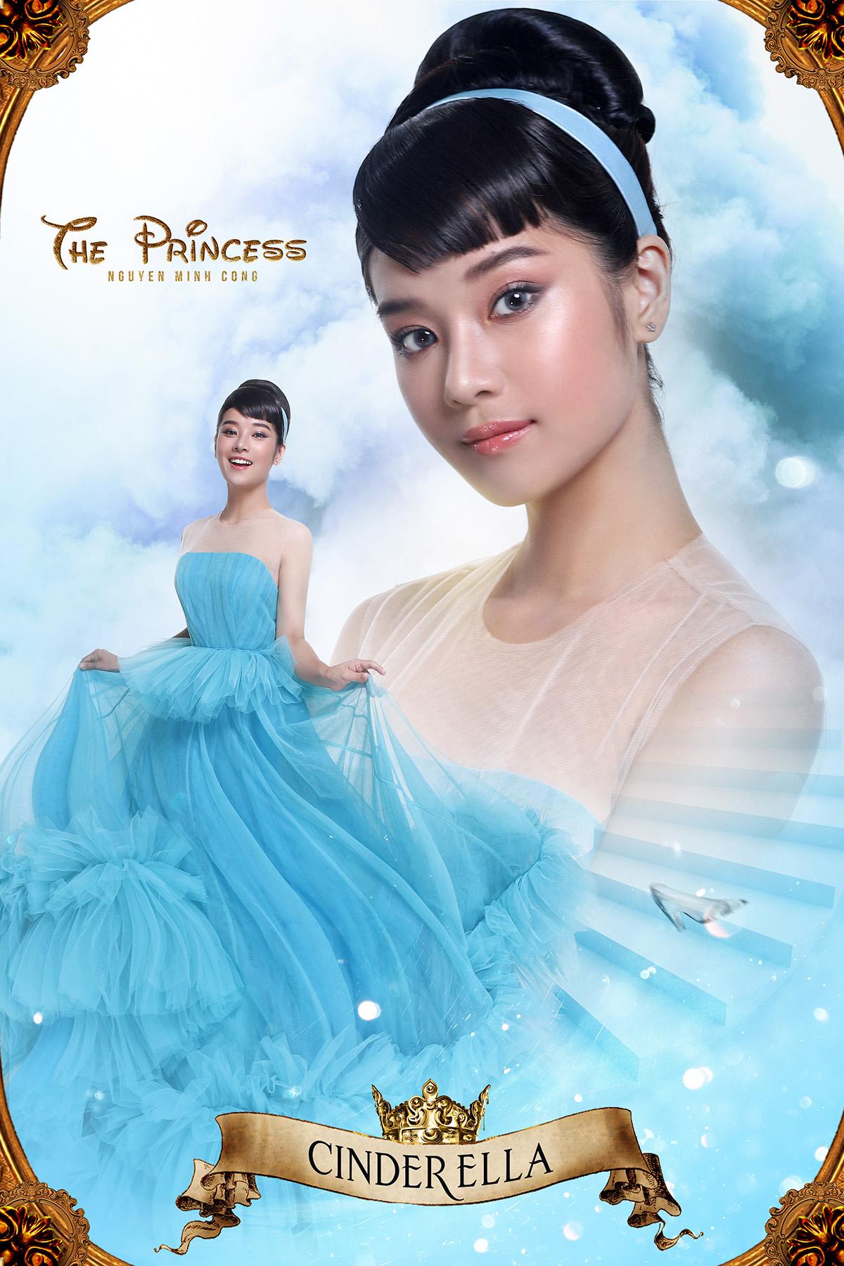 Jun Vũ, Hoàng Yến Chibi, Midu, Amee, Trương Quỳnh Anh hoá công chúa lộng  lẫy trong poster The Princess - Idoltv